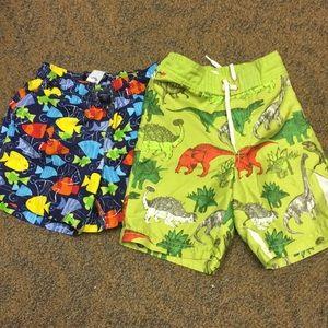 Bundle: 2 Boys Swim Trunks